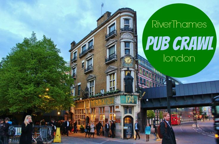 Our River Thames Pub Crawl took us to eight classic London pubs from the city center to Greenwich and included some of the oldest pubs on the river.
