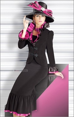 Image detail for -... Couture High Fashion First Lady Church Suit by Donna Vinci 11032