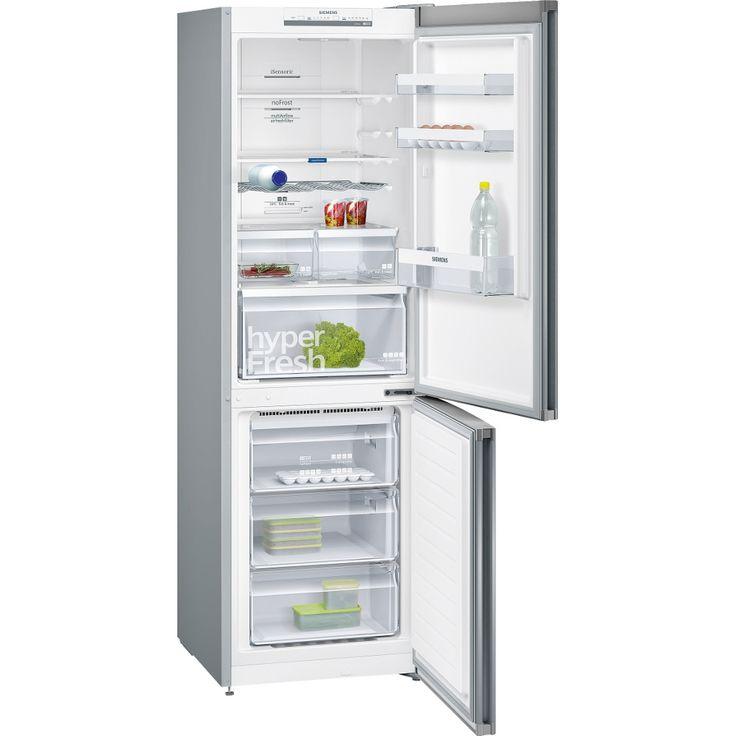 Buy Siemens KG36NVI35G Frost Free Fridge Freezer - Stainless Steel, Fingerprint Free | Marks Electrical