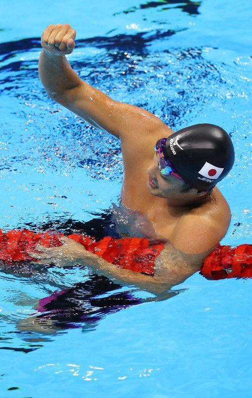 競泳男子 200 メートルバタフライでは、坂井聖人選手が銀メダルの快挙!リオデジャネイロオリンピック・リオ五輪2016