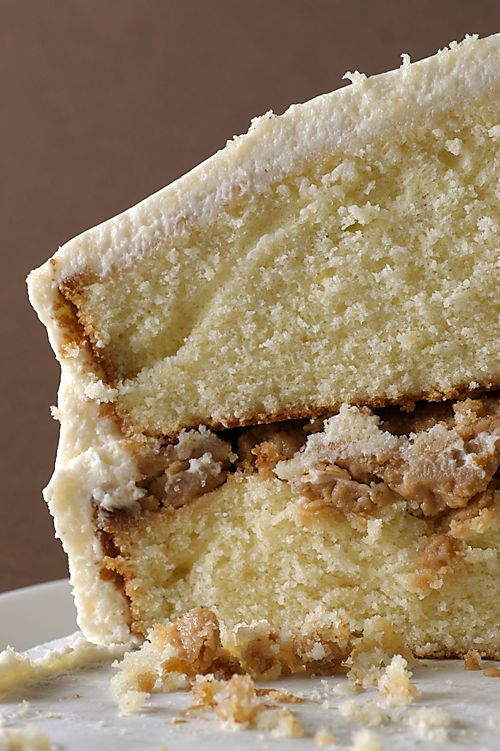Minny's Caramel Cake from 'The Help': Cream Cheese Frostings, Chocolates Pies Recipes, Frostings Recipes, Caramel Cream, Cream Chee Frostings, Layered Cakes Recipes, Caramel Cakes, Cream Cheese Cakes, Cream Cheeses