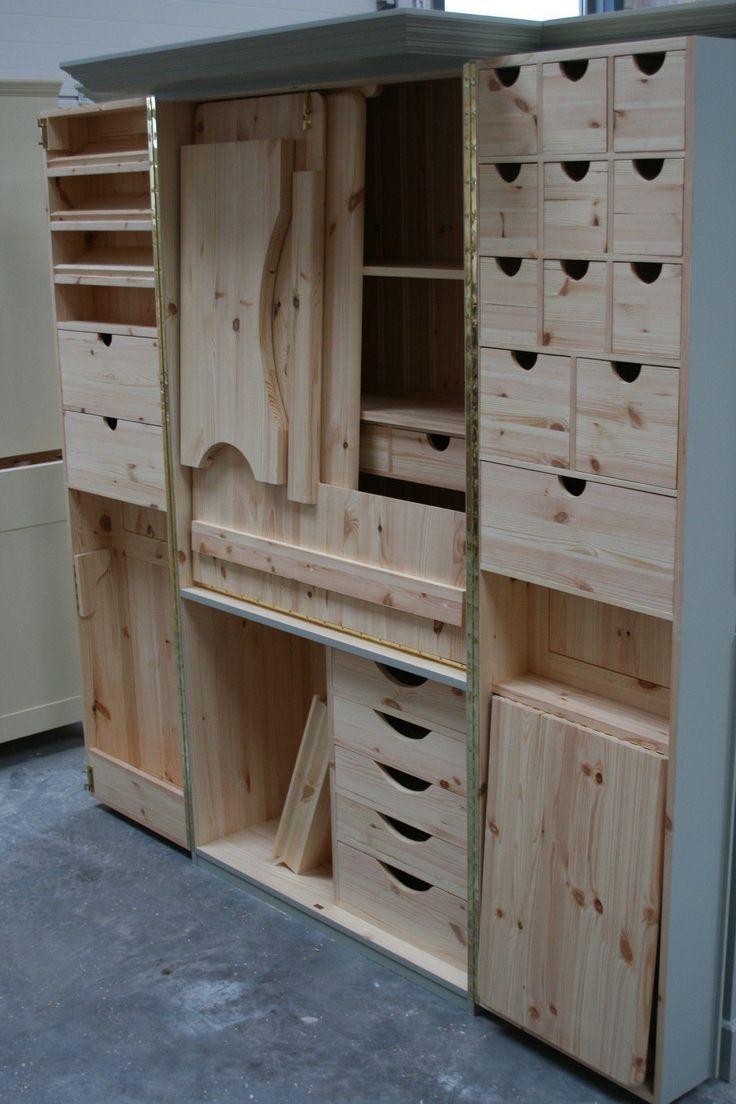Sewing Cabinet. Facades Quilting Cupboard Deluxe. Facades of Devon.   eBay