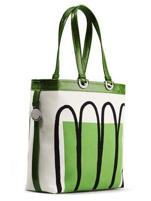Marimekko bag Virva Launo. Green Tote bag