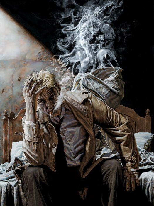 b656d7798 $5.95 - John Constantine Smoke Comic Art Huge Giant Print Poster #ebay  #Collectibles