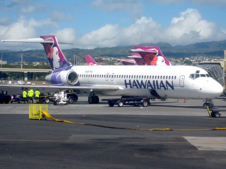 Hawaiian 717s on the interisland terminal ramp, HNL...