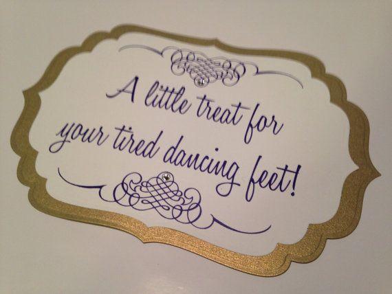 Flip Flop Sign For Weddings Partieore Purple Wedding Basket Customized Option