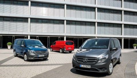 As a mid-size van the new Mercedes-Benz Vito sets benchmarks.