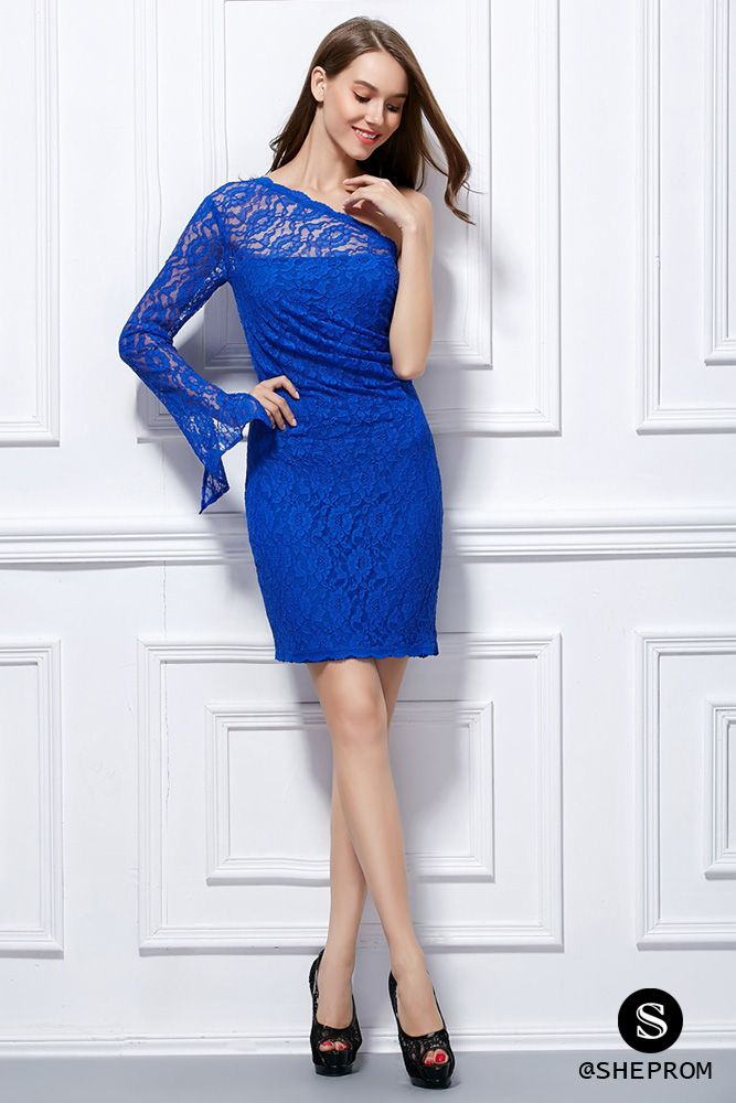Only $68, Lace One Long Sleeve Bodycon Short Dress #DK289 at #SheProm. SheProm is an online store with thousands of dresses, range from Cocktail,Party,Club,Blue,Bodycon Dresses,Lace Dresses,Short Dresses,Long Sleeve Dresses and so on. Not only selling formal dresses, more and more trendy dress styles will be updated daily to our store. With low price and high quality guaranteed, you will definitely like shopping from us.
