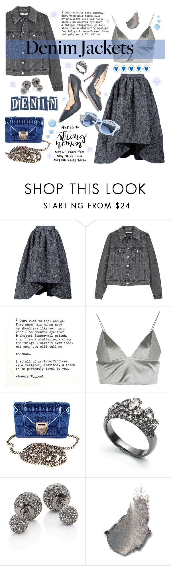 """Senza titolo #853"" by francescar ❤ liked on Polyvore featuring Christian Siriano, Givenchy, Hush, T By Alexander Wang, Paul Andrew, Christian Dior, Alexis Bittar, Adriana Orsini, Pinko and Topshop"