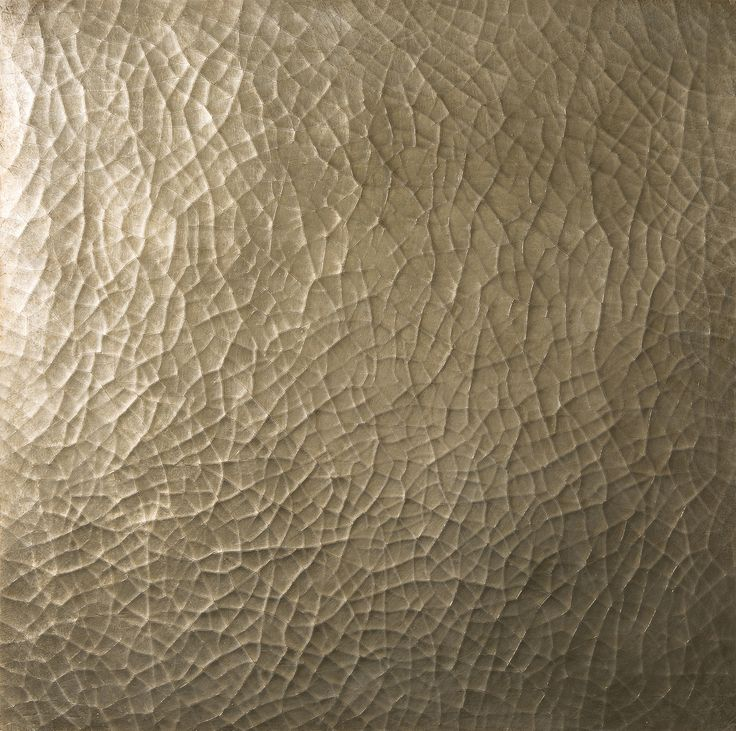 Craqueleur - Cracked gesso tiles in antiqued silver. These 60 x 60cm tiles are available in bronze, antique gold, duck egg blue and glaze velum finishes.
