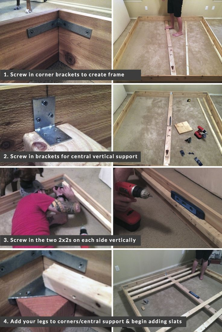 Process Picture 1 Jpg Diy Bed Frame Easy Diy Bed Frame Diy Bed