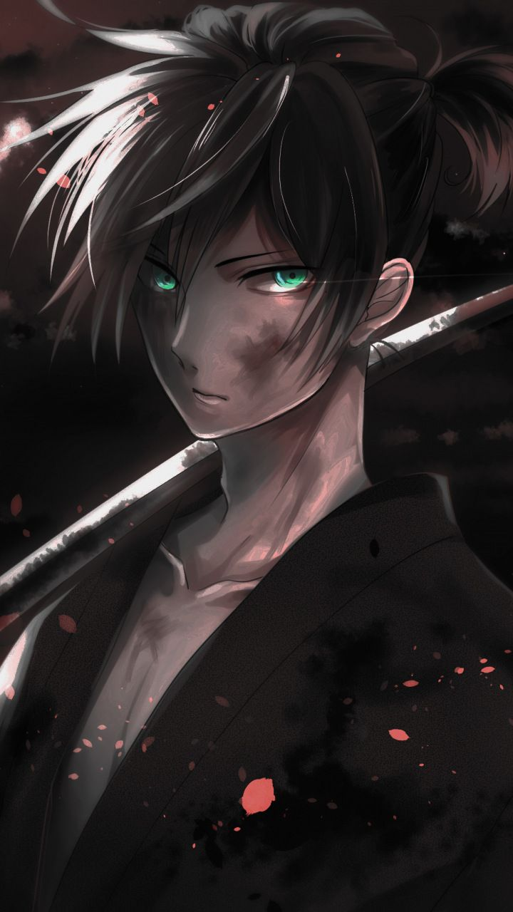 Warrior Yato Noragami Dark Anime Boy 720x1280 Wallpaper Dark Anime Noragami Noragami Anime