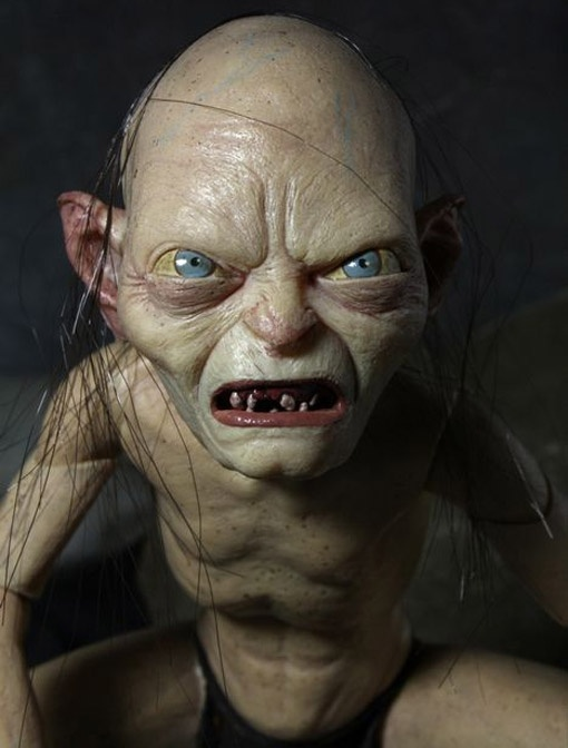 Deluxe Lord of the Rings Gollum and Smeagol Action Figures (Neca)