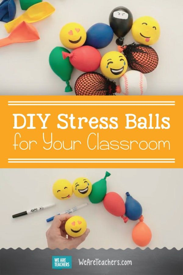 Diy Stress Balls For Your Classroom Stress Classroom