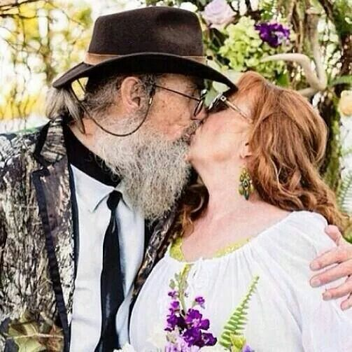 Uncle si and his wife Christine