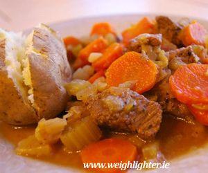 Beef Casserole: 275 Kcals Per Serving