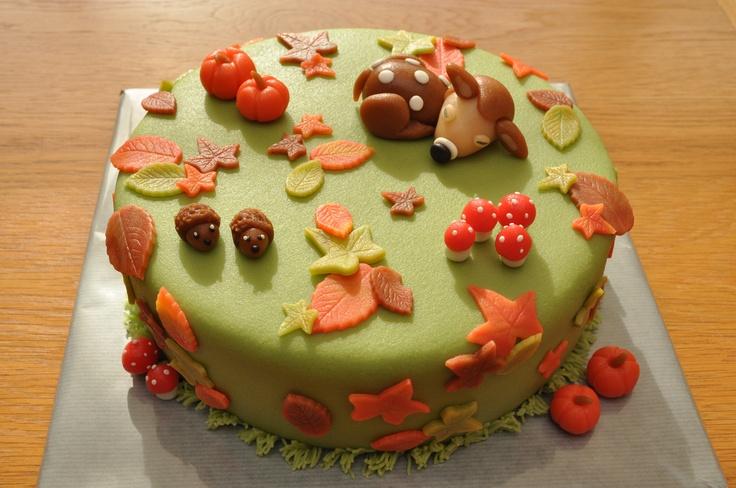 Herfst taart......