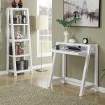 Personal Office Furniture Set – Convenience Concepts Newport Lilly Home Office Suite, White