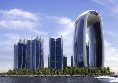 FUTURISTISCHE ARCHITECTUUR