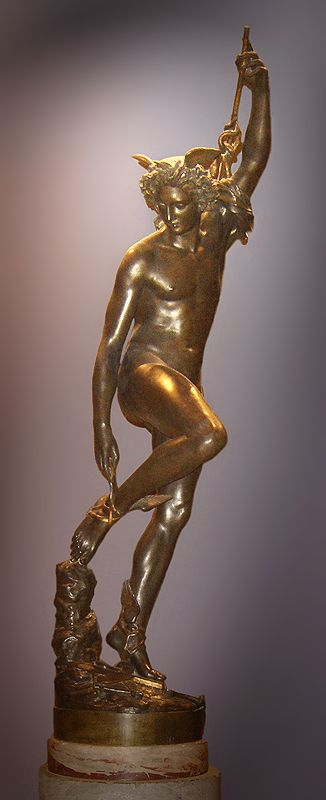 Hermes (Mercury): Messenger of the Gods; god of commerce and thieves