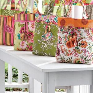 The Quilted Zest Tote Bag - Free Sewing Pattern