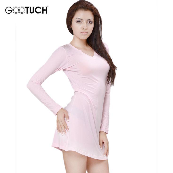Winter Long Sleeve Nightgown Sleepshirts Women Nightie Mujer Modal V Neck Nightdress High Quality Chemise 4XL 5XL G 2464