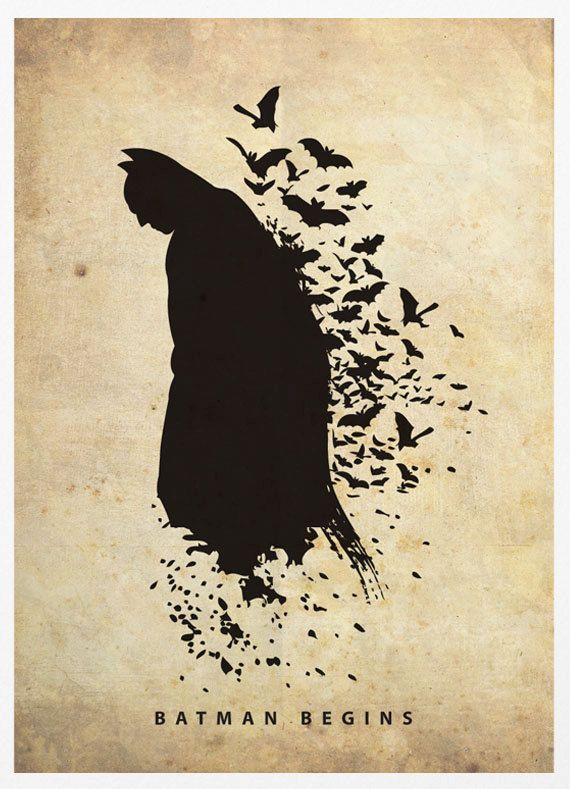 Creatively Silhouetted Posters of Superheroes - My Modern Metropolis