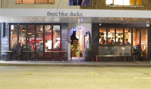Three Blue Ducks Café and Restaurant