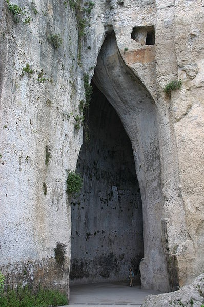 Ear of Dionysius (Orecchio di Dionisio) Siracusa Italy #siracusa #sicily
