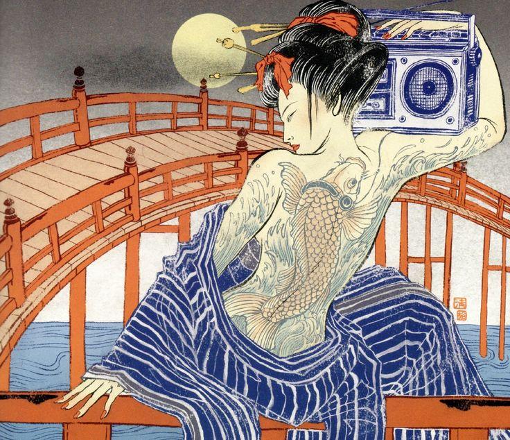 Now Hear This 2 © Yuko Shimizu (2007) by way of Bibliodyssey