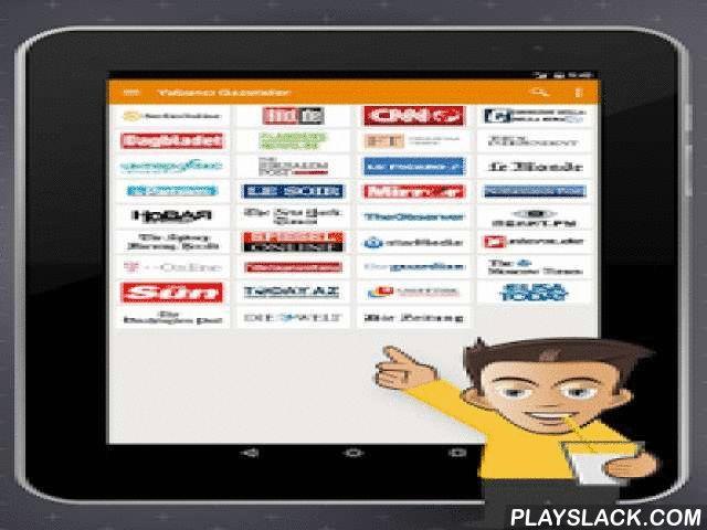Gazete Keyfi  Android App - playslack.com , Türkiye ve dünyadaki son dakika gelişmelerini, spor, siyaset, gündem gibi ilginizi çekebilecek tüm sıcak haberleri Gazete Keyfi uygulamasını kullanarak her yerden takip edebilirsiniz. Gazete Keyfi haber uygulaması size haberleri diğer kaynaklardan daha hızlı ulaştırmaktadır.Gazete Keyfi uygulamasında güncel haberleri takip edebilmenizle birlikte her an elinizin altında olmasını isteyeceğiniz internet kaynaklarına kolay erişim özelliği, favori…
