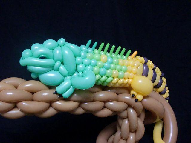 Balloon Sculptures By Masayoshi Matsumoto | www.arterie.in #arterie