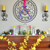 Home Decor~ Easter Decorated Piano