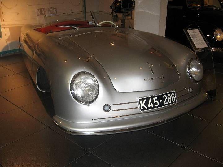 The First Porsche 356, Porsche museum Stuttgart