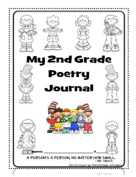 Here it is!  My pride and joy!  I tried to coordinate the poems with the weekly Treasures themes (2nd Grade) to the best of my ability...but I also...