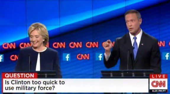 Huh?... CNN Debate: Gov. O'Malley: Assad's Biggest Blunder Was Invading Syria ...(He's President There) - The Gateway Pundit