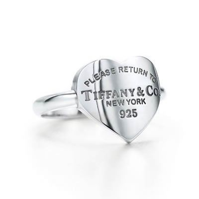 Tiffany And Co Ring Return To New York Heart Silver 023