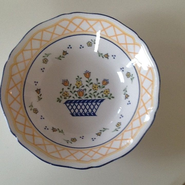 Potet/salatbolle - diamter 22 cm – Sango Country French servise