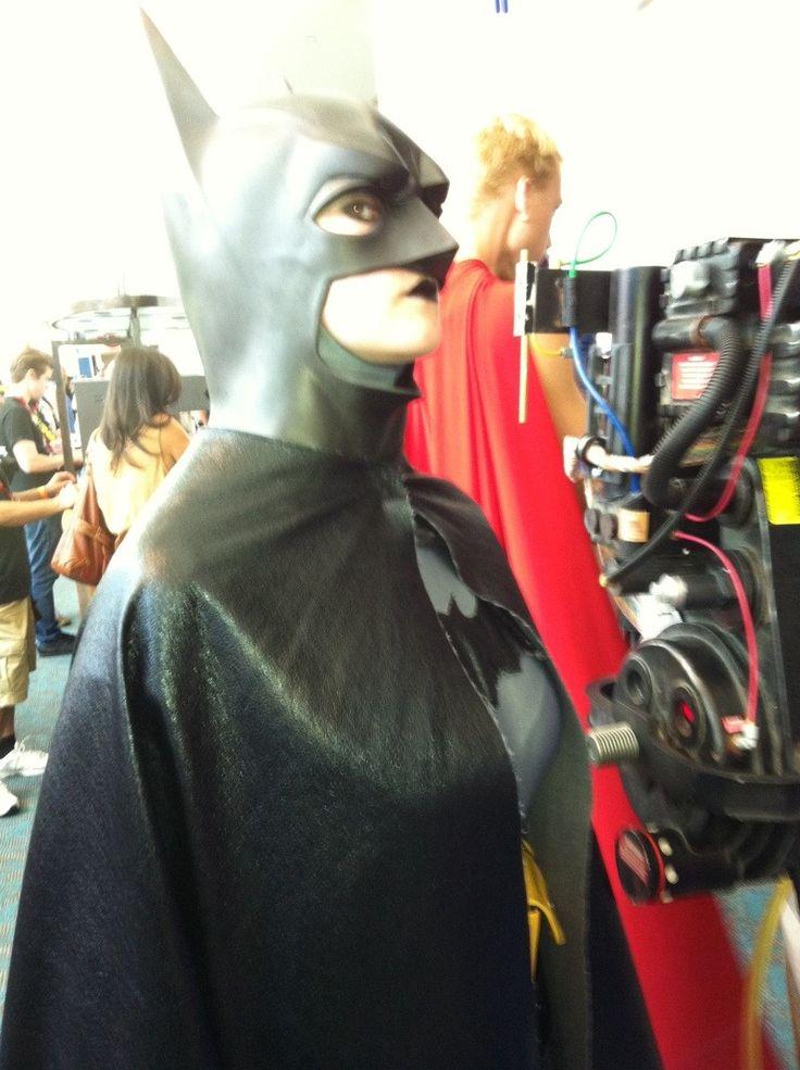 San Diego Comic-Con cosplay Batwoman