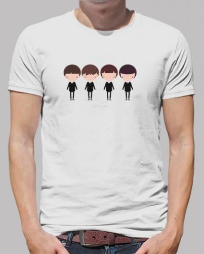 Prezzi e Sconti: #Beatles maglietta uomo con illustrazione  ad Euro 22.00 in #Tostadora #T shirt uomo