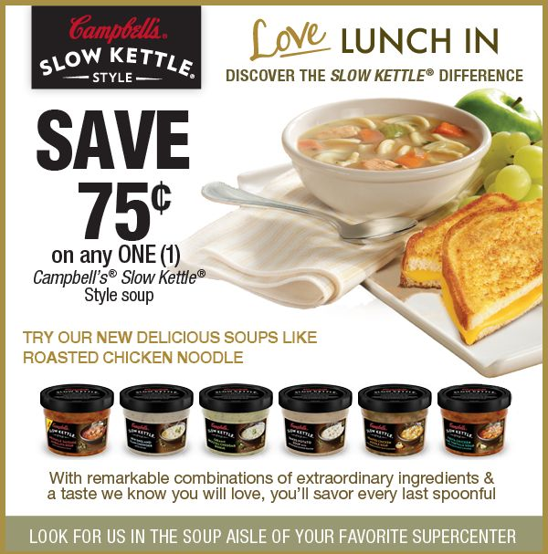 Love Lunch In - Discover the Slow Kettle® difference
