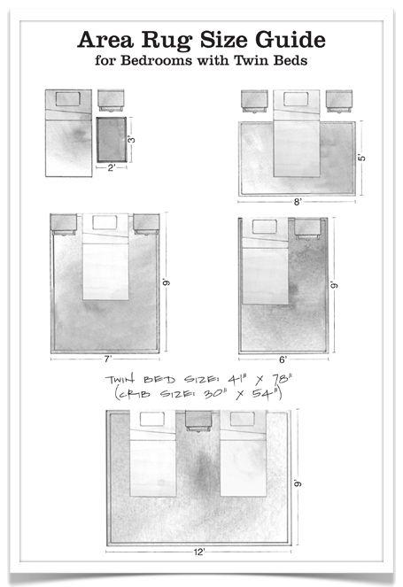 area rug size guide - twin interior design and decoration interior design