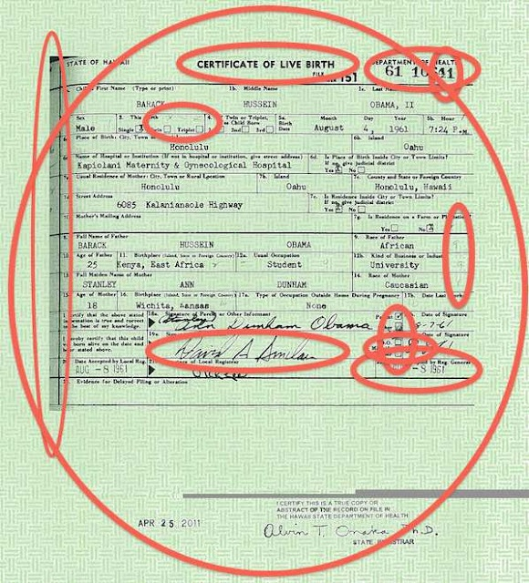 Lawyers representing the current sitting President of the United States of America have been forced, under penalty of perjury, to admit that the long-form birth certificate presented by the White House in April of 2011 is a total forgery.