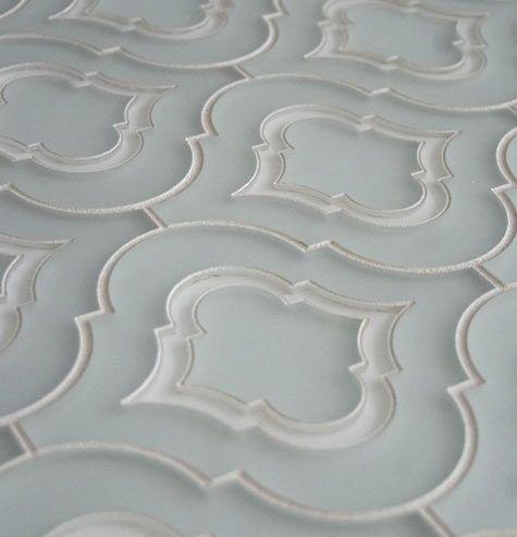 Moroccan glass tile (Edgewater Studio): kitchen blacksplash.