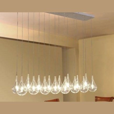 Colgante Gota de 16 luces
