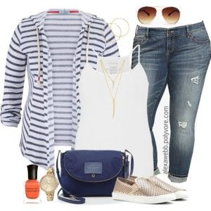 Plus Size - Casual Outfit