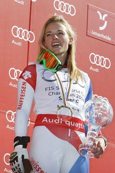Lara Gut in Audi FIS World Cup: Women's Super G