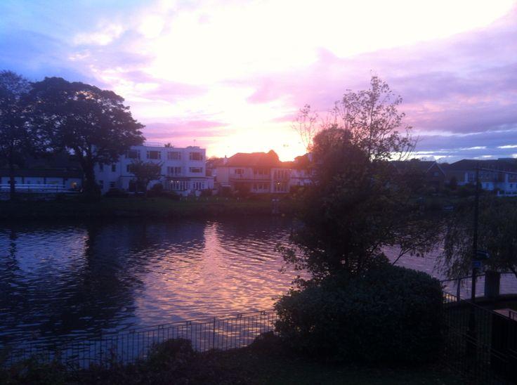 Por do Sol Thames River