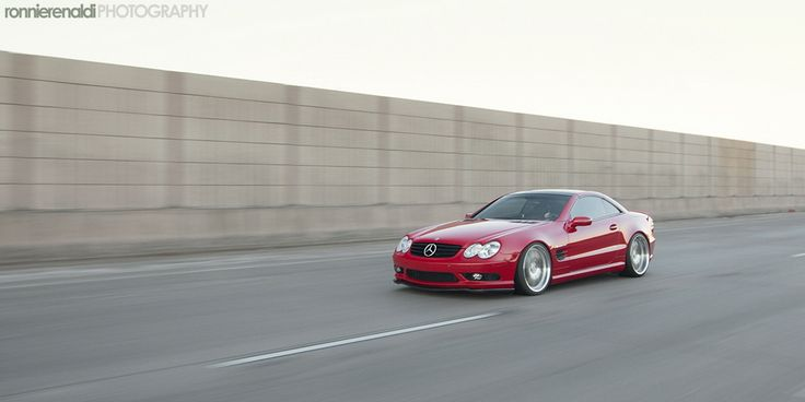 FS: Nicely MODDED Red Mercedes SL55 AMG | RADBNZ - Teamspeed.com