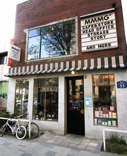 MMMG stationary shop and cafe